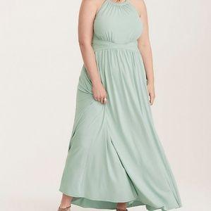 Torrid High Neck Jersey Maxi Dress